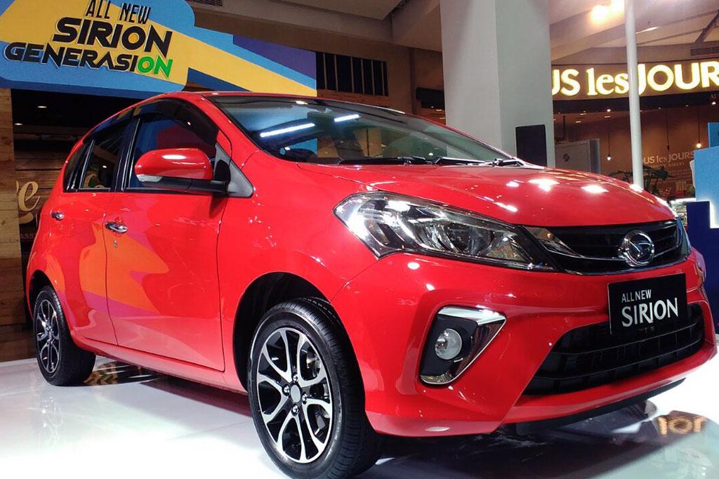 Intip Perubahan Baru Daihatsu All New Sirion