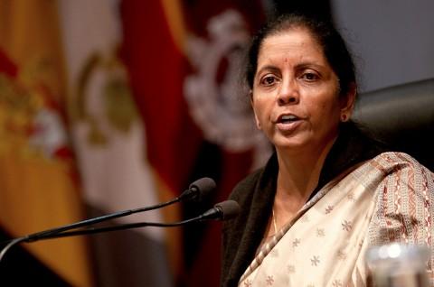Menhan India Nirmala Sitharaman. (Foto: AFP/RAKESH BAKSHI)