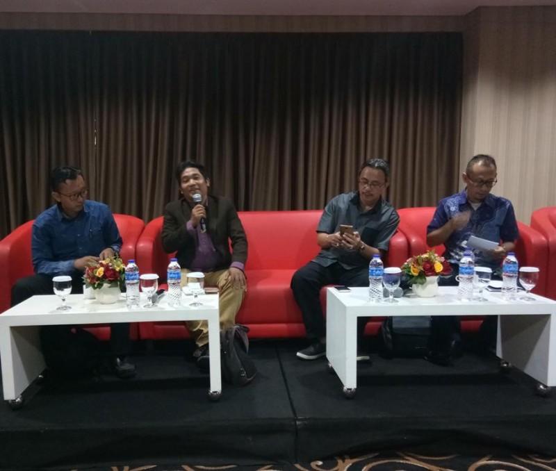 Ilustrasi--Suasana diskusi dengan topik 'Penyikapan RKUHP dan Revisi UU MD3: Selamat Datang Politik Anti Kritik dan Anti Demokrasi' di D'Hotel, Setiabudi, Jakarta--Medcom..id/Achmad Zulfikar Fazli
