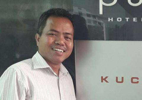 Kepala Bagian Hubungan Masyarakat BNP2TKI Servulus Bobo Riti.
