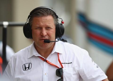 Direktur McLaren Zak Brown-AFP/Clive Mason