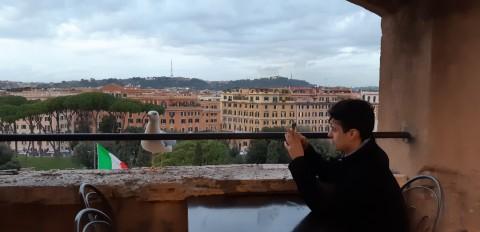 Salah satu sudut di Castel Sant'Angelo.(Foto;Medcom/Fitra