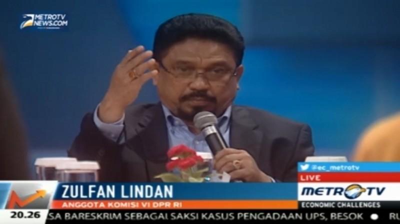 Wakil Ketua Fraksi Nasdem Zulfan Lindan.