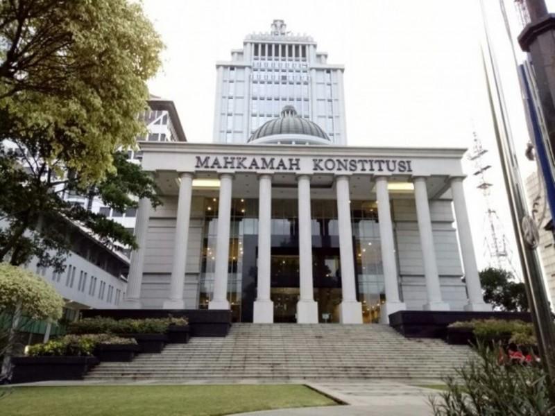 Gedung Mahkamah Konstitusi. (Foto: MTVN/Meilikhah).