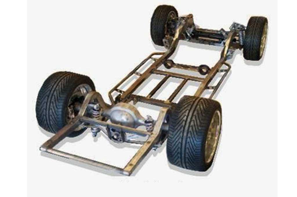 Sasis mengalami ragam perkembangan bentuk di industri otomotif. Mechanicalbooster