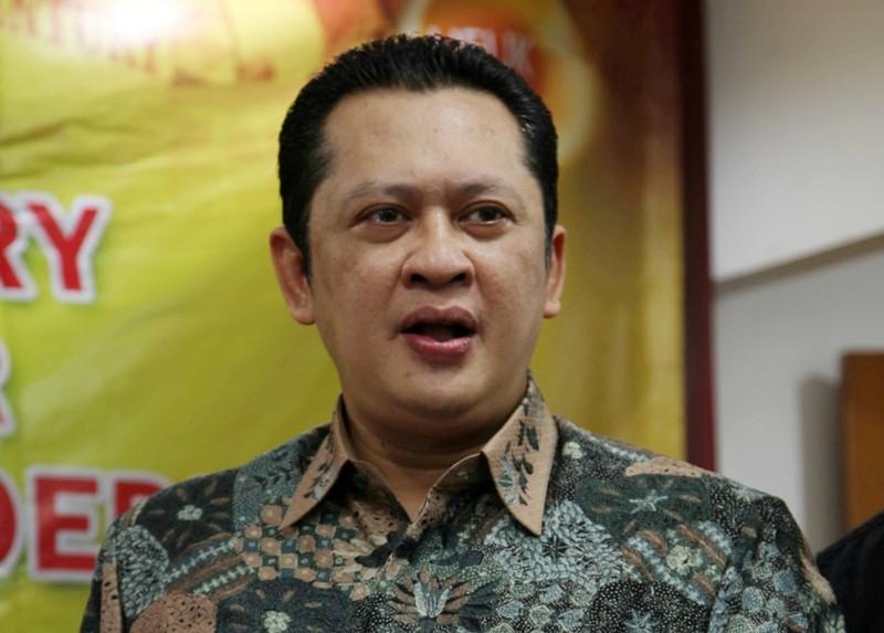 Ketua baru DPR RI Bambang Soesatyo. Foto: MI/Mohamad Irfan