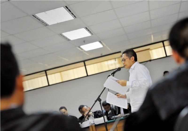 Mantan Ketua Umum Partai Demokrat Anas Urbaningrum--MI/Yudhi Mahatma