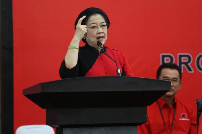 Ketua Umum Partai Demokrasi Indonesia (PDI) Perjuangan Megawati Soekarno Putri. (MI/Susanto)
