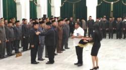 Aher Lantik Tujuh Pjs Kepala Daerah di Jawa Barat
