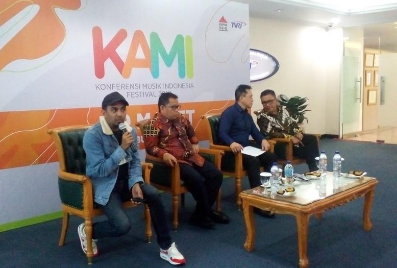 Jumpa pers Konferensi Musik Indonesia (Foto: medcom/cecylia)