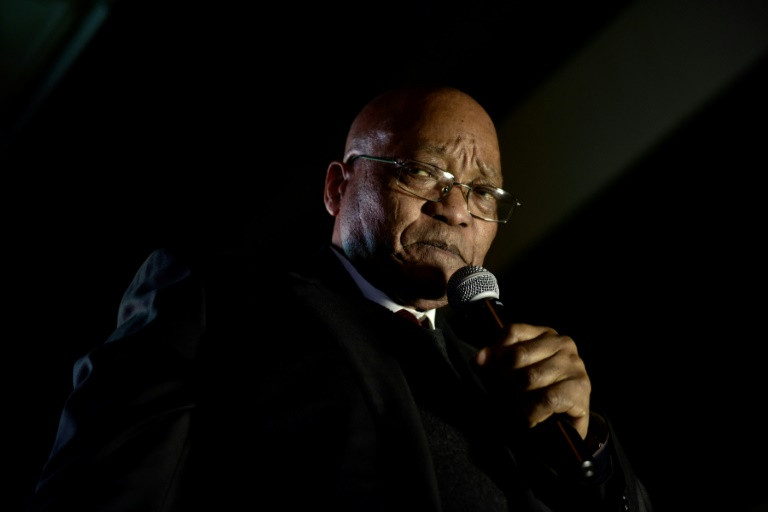 President Jacob Zuma, his reputation stained by allegations of graft, is fighting for his political survival. (Photo:AFP/Pieter Bauermeister)