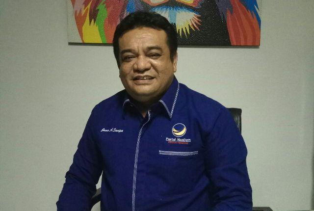 Sekretaris Komisi C DPRD DKI James Arifin Sianipar. Foto: Nasdemjakarta.id