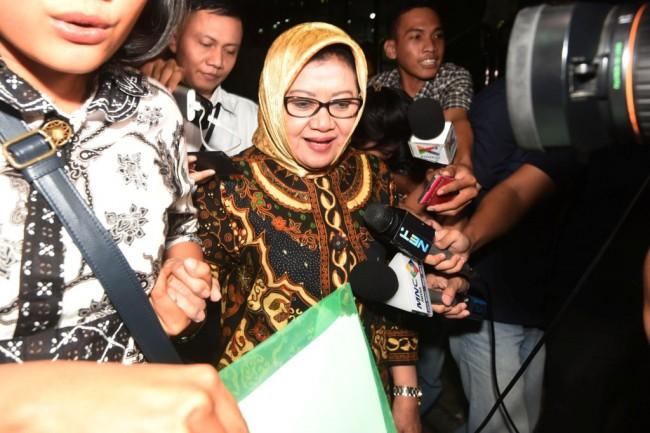Bupati Subang Imas Aryumningsih/ANT/Akbar Nugroho Gumay