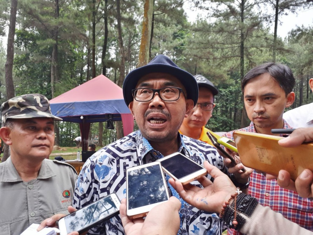 Kepala BKSDA Jawa Barat, Sustyo Iriyono. Medcom.id/Faisal Abdalla