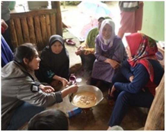 Mahasiswa UNPAR Membangun Masyarakat Mandiri