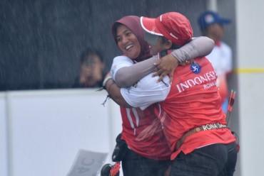 Tim Panahan Putri Indonesia Sabet Emas