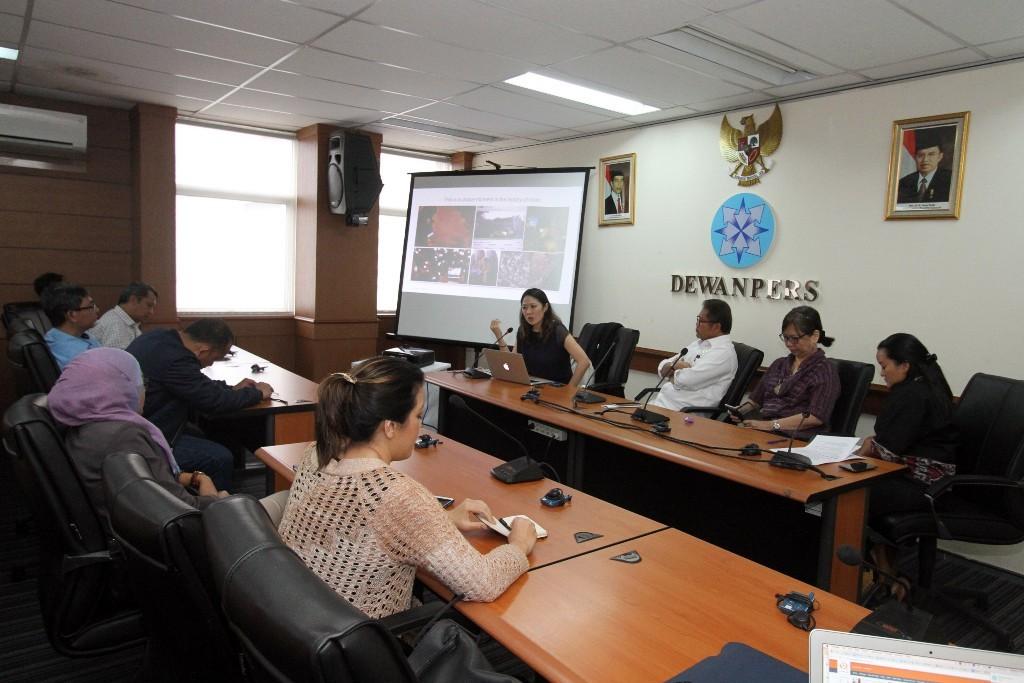 Ilustrasi rapat Dewan Pers. Foto: MI/Arya Manggala