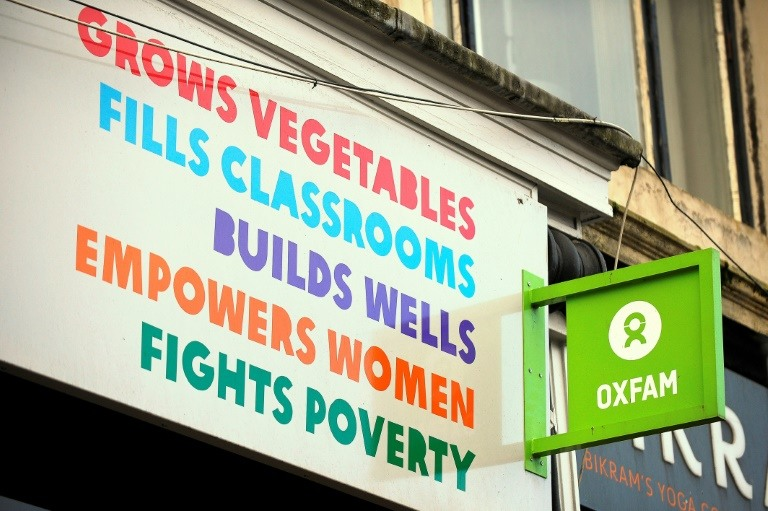 The scandal led to the resignation of Oxfam's deputy head and has thrown into question government funding for the charity. (Photo:AFP/Andy Buchanan)