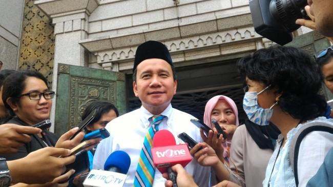 Deputi Gubernur Senior Bank Indonesia (BI) Mirza Adityaswara. (medcom/Eko Nordiansyah).
