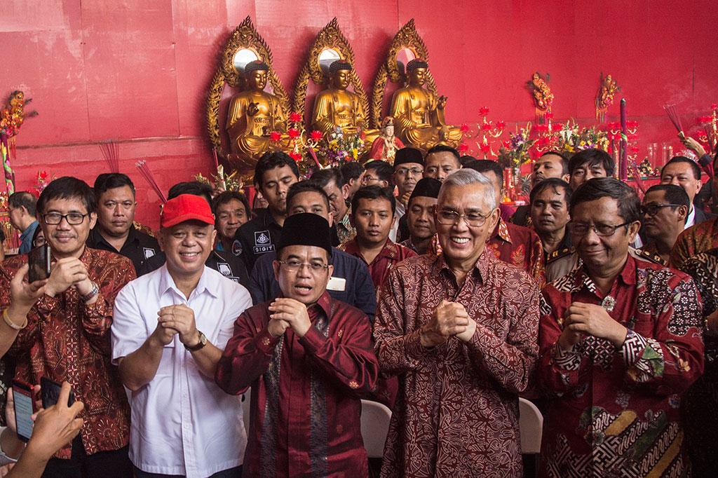 UKP Pancasila Kunjungi Wihara Petak Sembilan