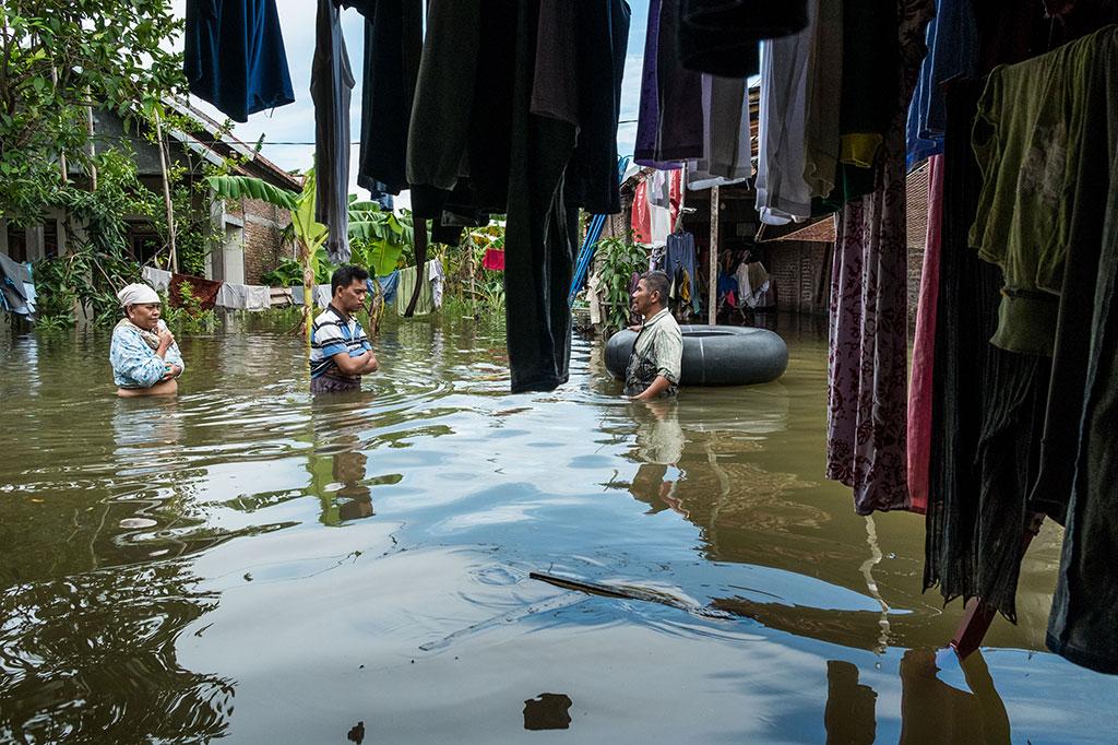 Banjir Rendam Ribuan Rumah Warga Demak