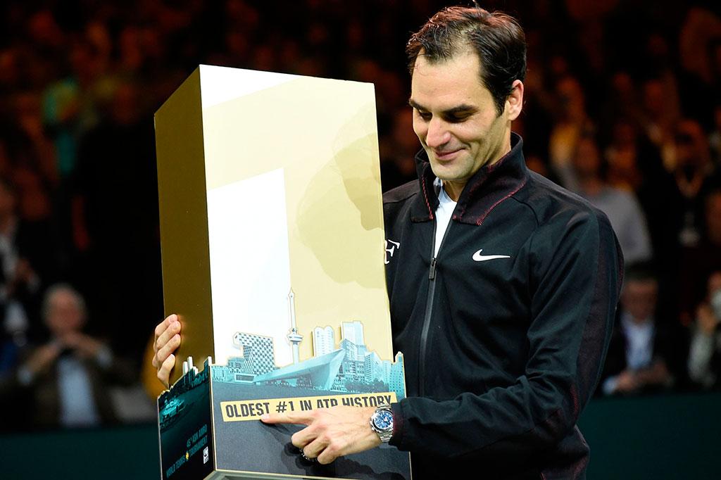 Federer Kembali Duduki Peringkat 1 Dunia