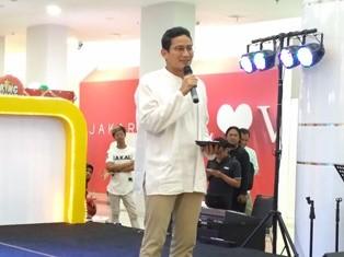 Wakil Gubernur DKI Jakarta Sandiaga Salahuddin Uno. (Foto: