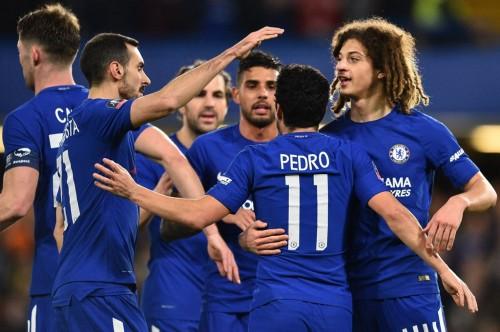 Skuat Chelsea. (Foto: AFP/Glyn Kirk)