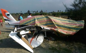 Pesawat Gubernur Aceh Mendarat Darurat