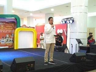 Wakil Gubernur DKI Jakarta Sandiaga Salahuddin Uno saat menjadi