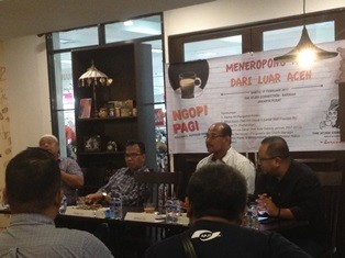 Diskusi 'Meneropong Aceh dari Jauh'. (Foto: MTVN/Inten
