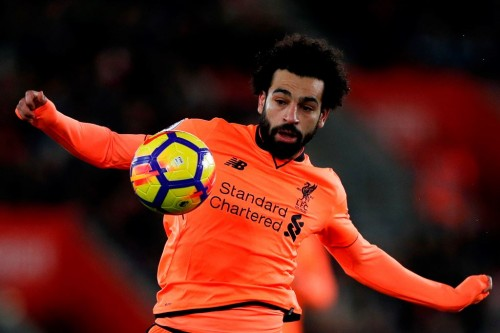 Mohamed Salah. (AFP PHOTO / Adrian DENNIS)
