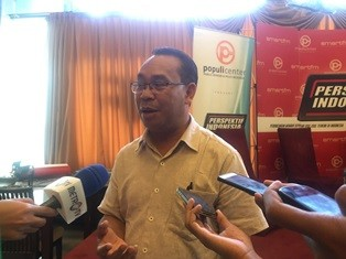 Peneliti Forum Masyarakat Peduli Parlemen Indonesia (Formappi)
