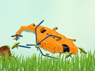 Ilustrasi helikopter jatuh. Metrotvnews.com.