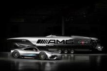 Kapal Cepat Mewah Ini Terinsiprasi Mercedes-AMG Project One