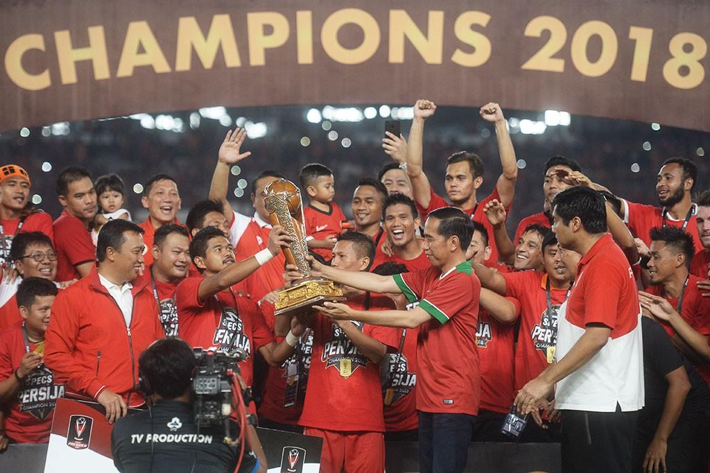 Persija Juara Piala Presiden 2018