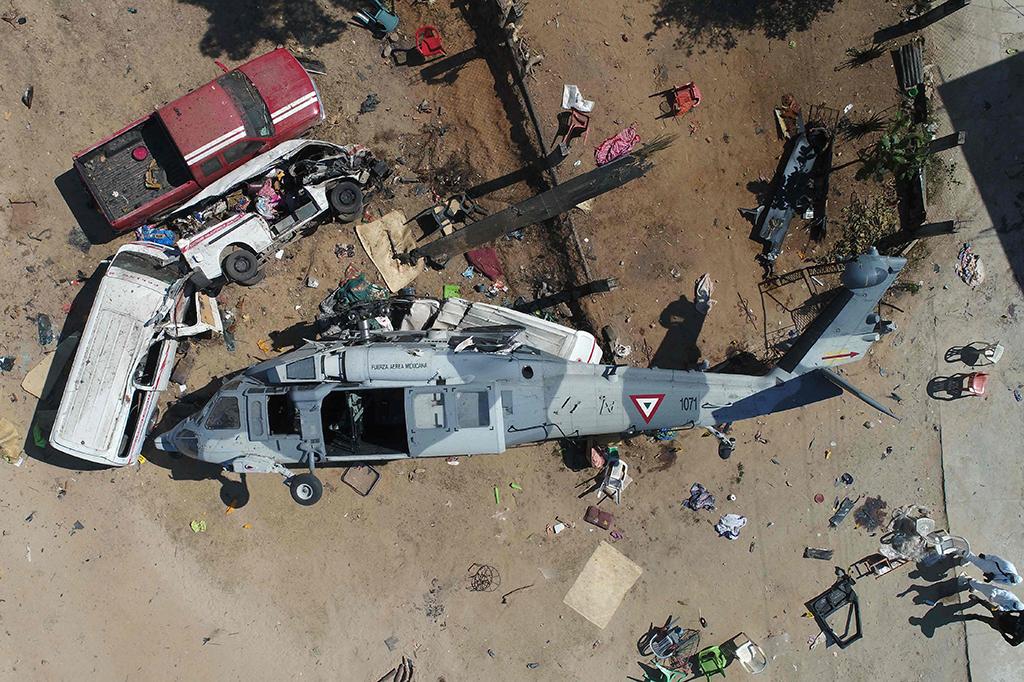 13 Tewas dalam Kecelakaan Heli yang Ditumpangi Menteri Meksiko