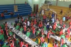 Ribuan Warga Ikut Potong Rambut Gratis di Bekasi