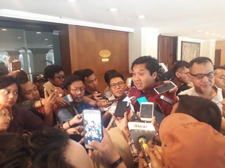 Ketua Steering Committee Piala Presiden 2018 Maruarar Sirait/Medcom.id/Damar