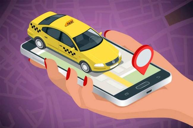 Ilustrasi transportasi berbasis online. Medcom.id.