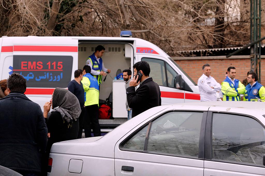 66 Orang Tewas dalam Kecelakaan Pesawat di Iran