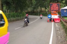 Jalur Puncak Bogor Dibuka Lagi Usai Longsor
