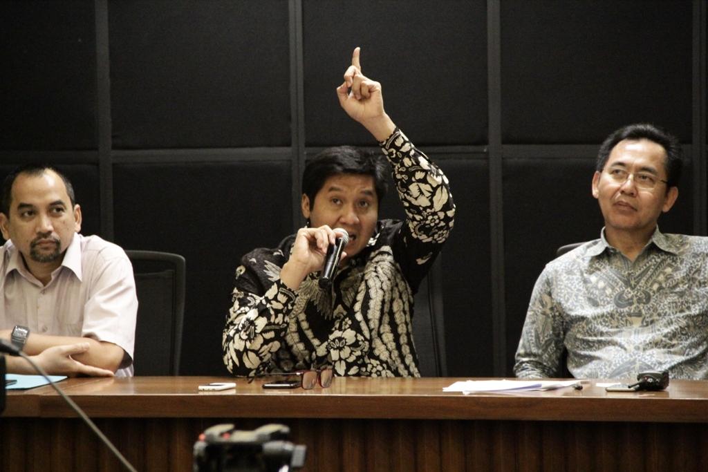 Ketua Steering Commitee Piala Presiden Maruarar Sirait (Foto: medcom.id/Rendy Renuki)