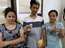 Kakak Dhawiya tak DItahan Polisi