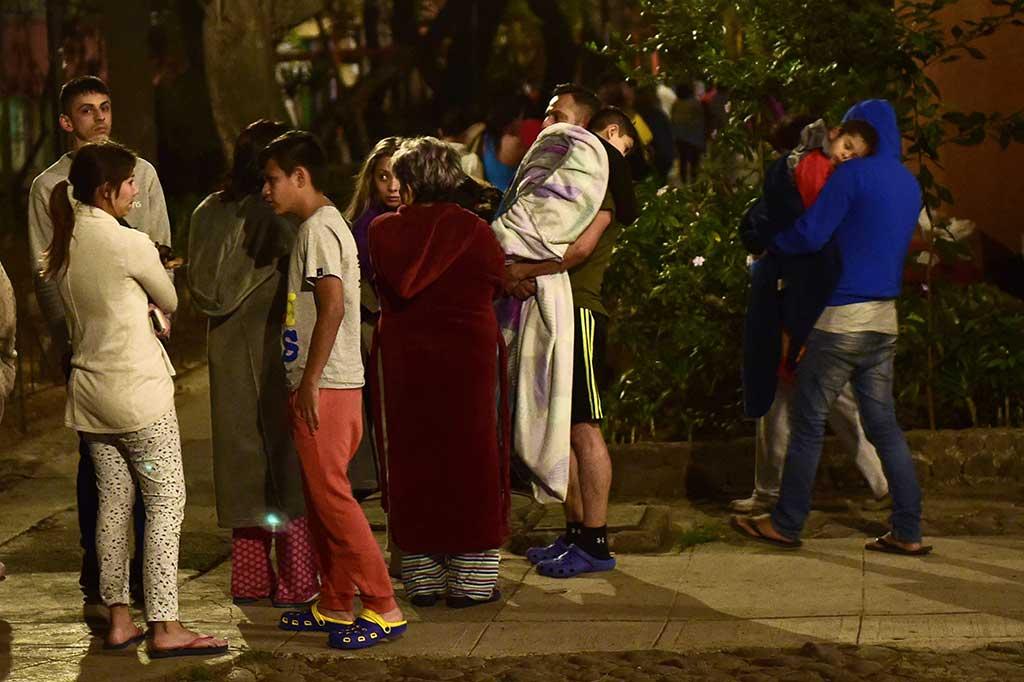 Gempa Susulan Landa Meksiko, Warga Panik