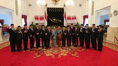 Sejumlah Dubes RI dilantik di Istana Negara, Selasa pagi, 20 Februari 2018/Medcom.id/Yogi
