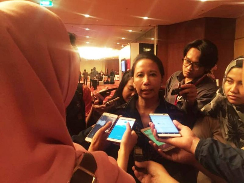 Menteri Badan Usaha Milik Negara (BUMN) Rini Soemarno. (FOTO: Medcom.id/Annisa Ayu)