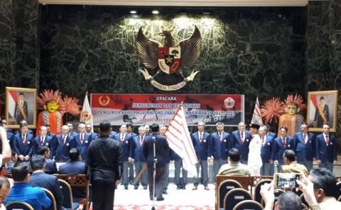 Pengurus KONI DKI Jakarta Dikukuhkan