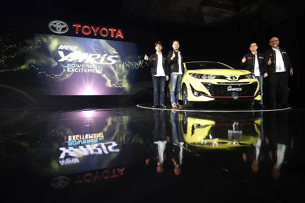 Toyota New Yaris Resmi Mengaspal di Indonesia
