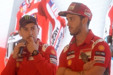 MotoGP 2018: Dovi & Lorenzo Beda Pendapat soal Motor Baru Ducati